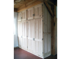 Built-in Maple Cabinet