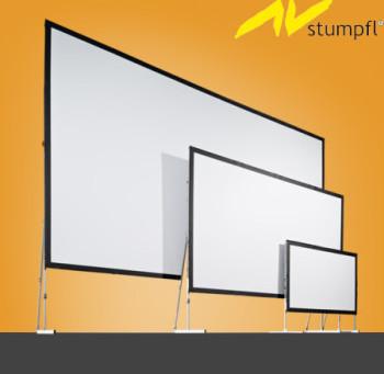 Экран AV Stumpfl для голографии Янки Купалы в минском музее