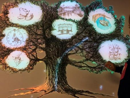 Музей «Алисиум» — интерактивная навигация при входе «Дерево»