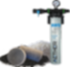 Compressed air and co2 filter