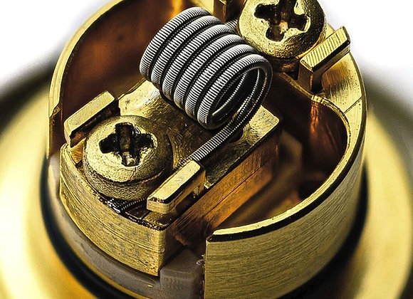 MTL FUSED CLAPTON COILS BY COILTURD