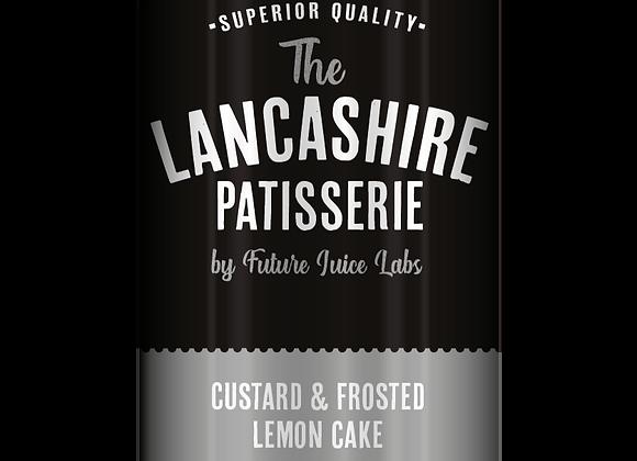 The Lancashire Patisserie - Custard & Frosted Lemon Cake 100ml 0MG