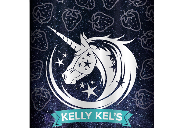 Kelly Kells Unicorn Deserts - Strawberry Cheesecake Delight 100ml 0mg