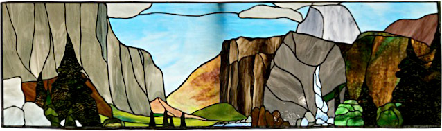 Stain Glass Yosemite 1