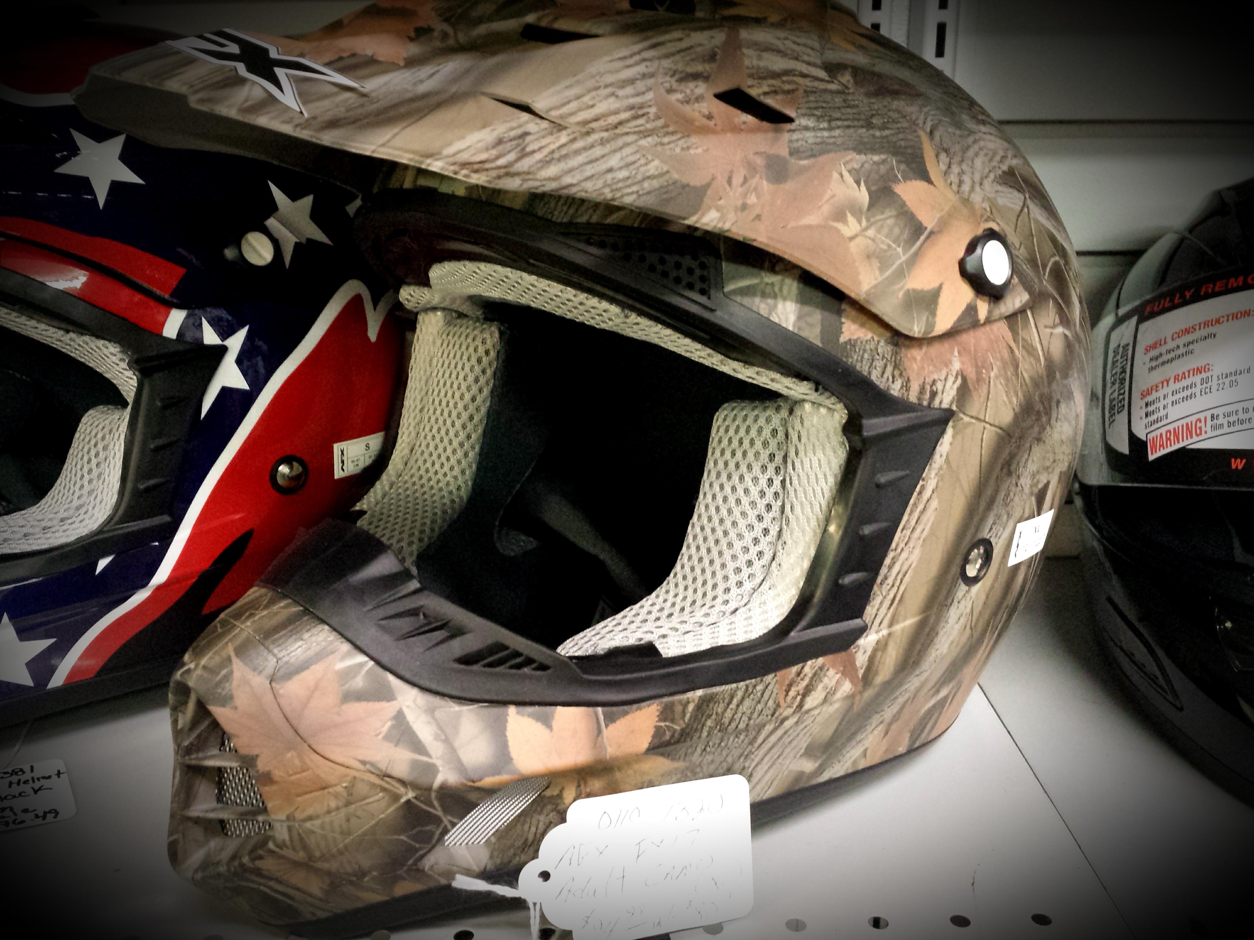AFX FX-17 Adult Camo Helmet