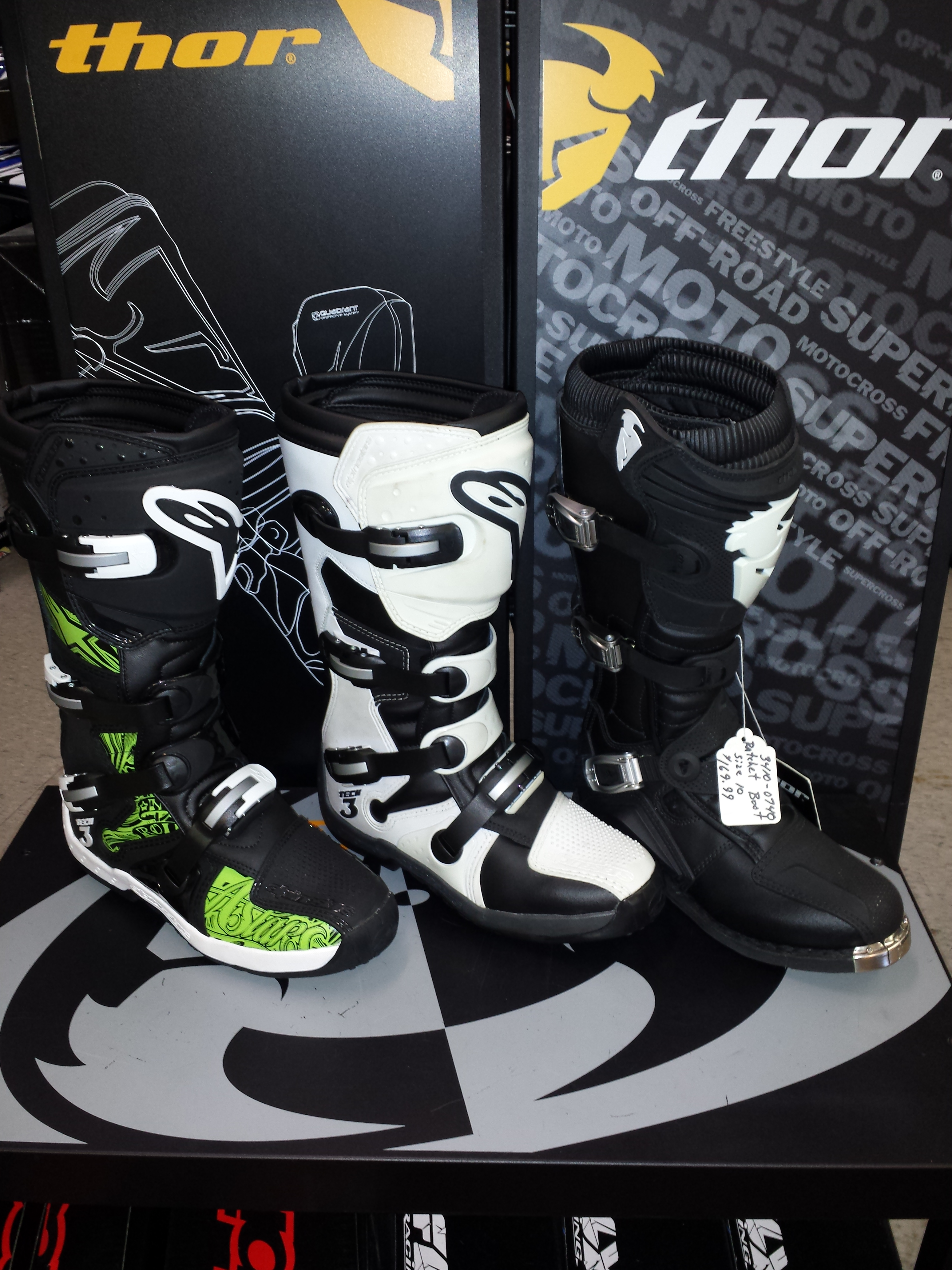 Alpinestar Boot Selection