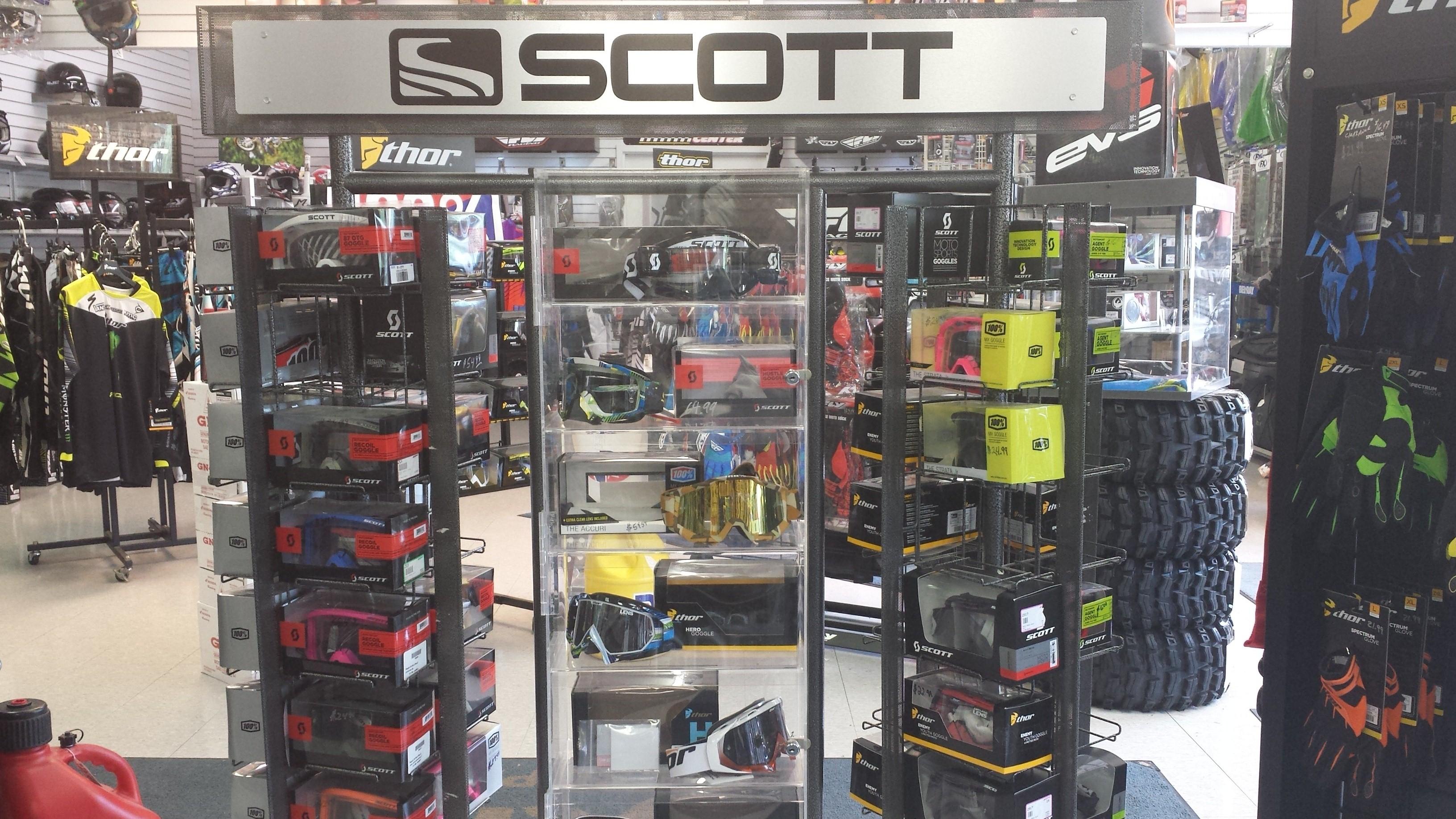 Scott/ 100%/ Thor goggles