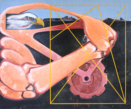 Untitled, 2014, Oil on canvas, 167 x 200 cm