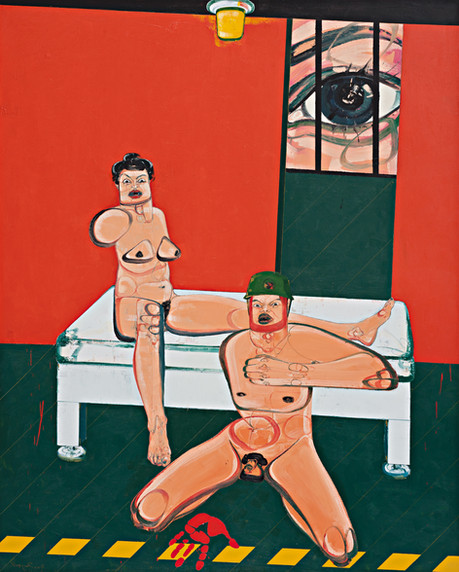 Untitled, 2011, Oil on canvas, 250 x 200 cm