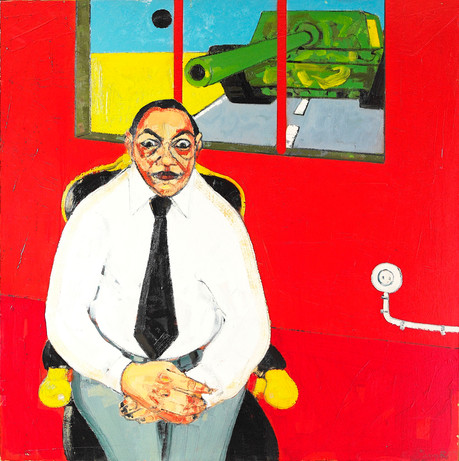 Untitled, 2009, Oil on canvas, 120 x 120 cm