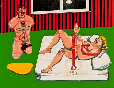 One Night Stand Il, 2011, Oil on canvas, 170 x 216 cm