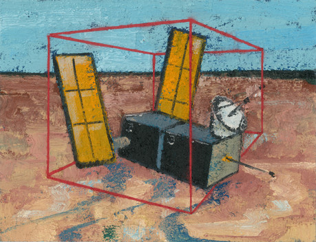 Untitled, 2016 Oil on cardboard, 27 x 35 cm