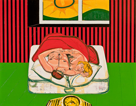 One Night Stand V, 2011, Oil on canvas, 170 x 216 cm