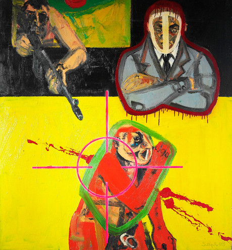 Untitled, 2008, Oil on canvas, 140 x 200 cm