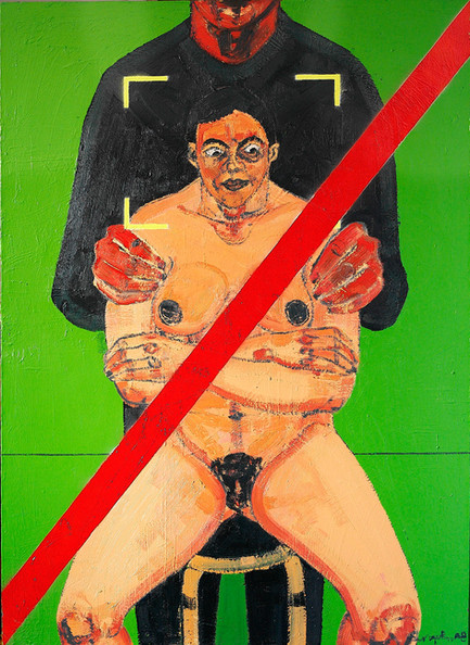 Untitled, 2008, Oil on canvas, 150 x 110 cm