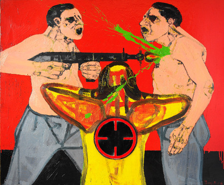 Untitled, 2008, Oil on canvas, 140 x 168 cm