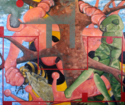 Untitled, 2015, Oil on canvas, 167 x 200 cm