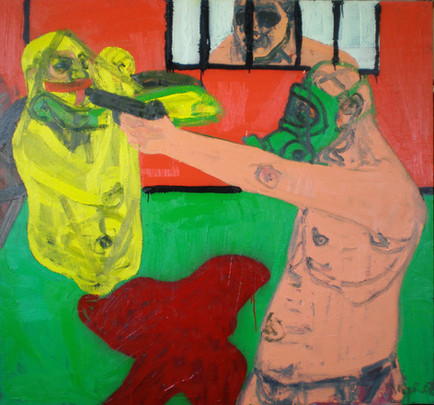 Untitled, 2007, Oil on canvas, 140 x 150 cm