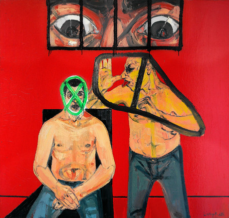 Untitled, 2008, Oil on canvas, 140 x 150 cm