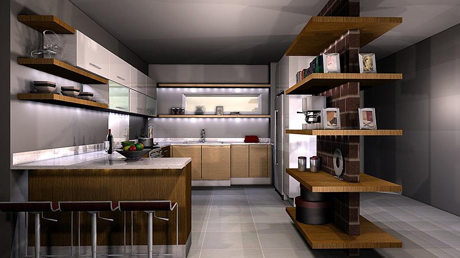 Fusion Kitchen Design