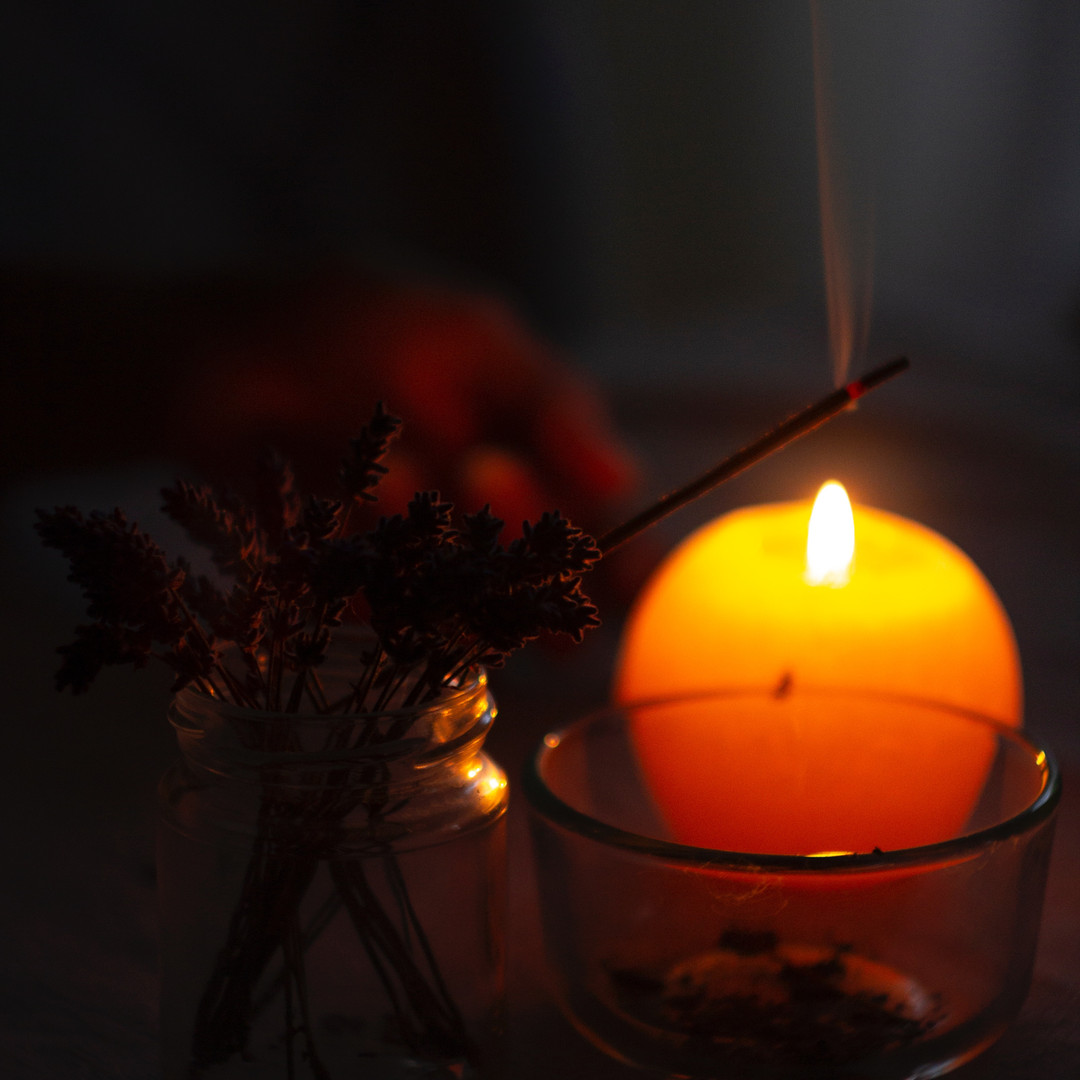 close-up-photo-of-lighted-incense-stick-