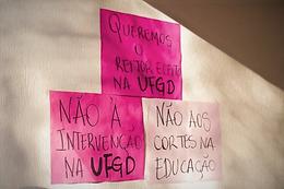 Contra intervenção, ADUEMS publica nota de apoio a docentes e alunos da UFGD