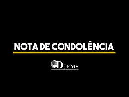 Nota de condolências ao professor Dr. Adilson Crepalde, pelo falecimento de Marlene Crepalde