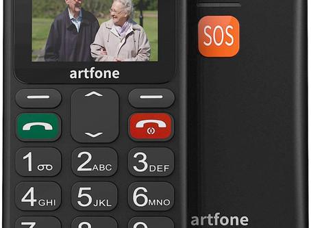 Test du Artfone GSM Téléphone Portable Senior Débloqué avec Grandes Touches, Bouton SOS Dual-SIM