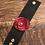 Thumbnail: Shawl Cuff - Leather Flowers