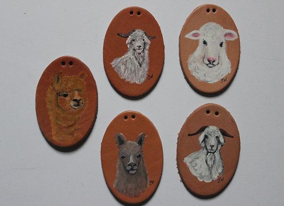Goats, Llamas and Sheep