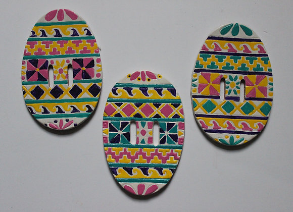 Easter Egg Tie-On's