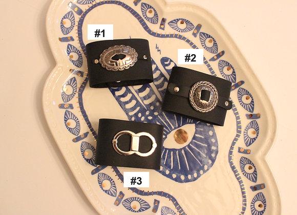 Leather Shawl Cuff
