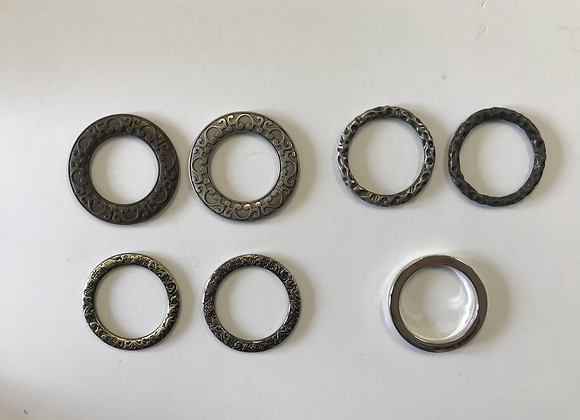 Plain and Fancy Rings