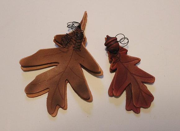Oak Leaves Tie-On's