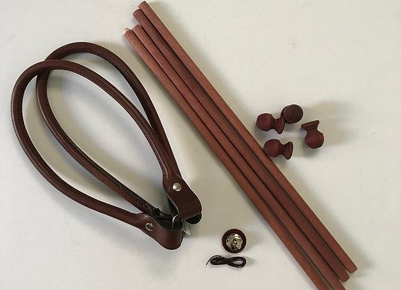Knitted/Felted Carpet Bag handle set