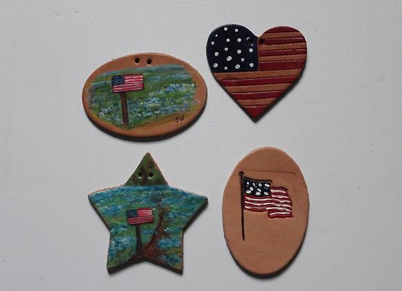 Americana Tie-On's