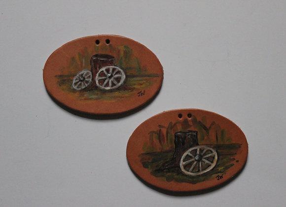Wagon Wheel Tie-On's