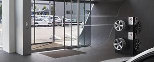 Porte automatique piétonne sas pour hotel, pharmacie ,magasin installé à nice