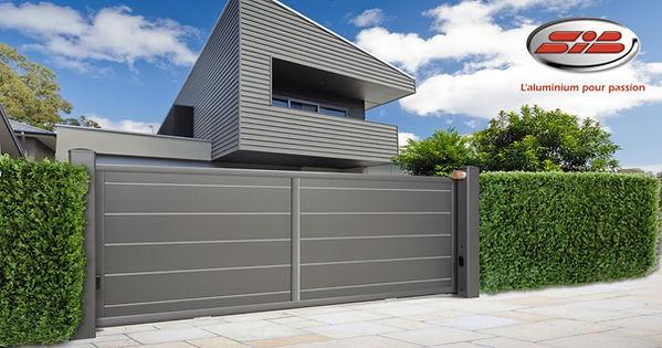 FMS - Portails en aluminium design sur Nice canns mougins et monco  SIB