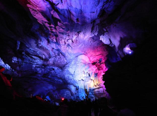 Natural 'Bora Caves', Vizag