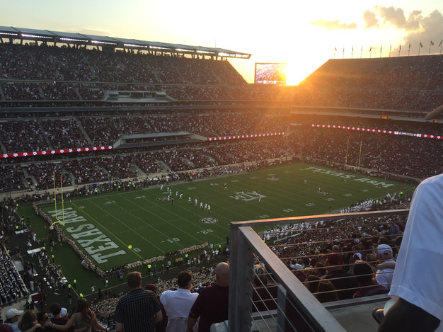 Kyle Field Football match!