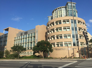 A&M Physics building, College Station