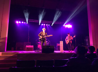 Live performance in Downtown Bryan, TX