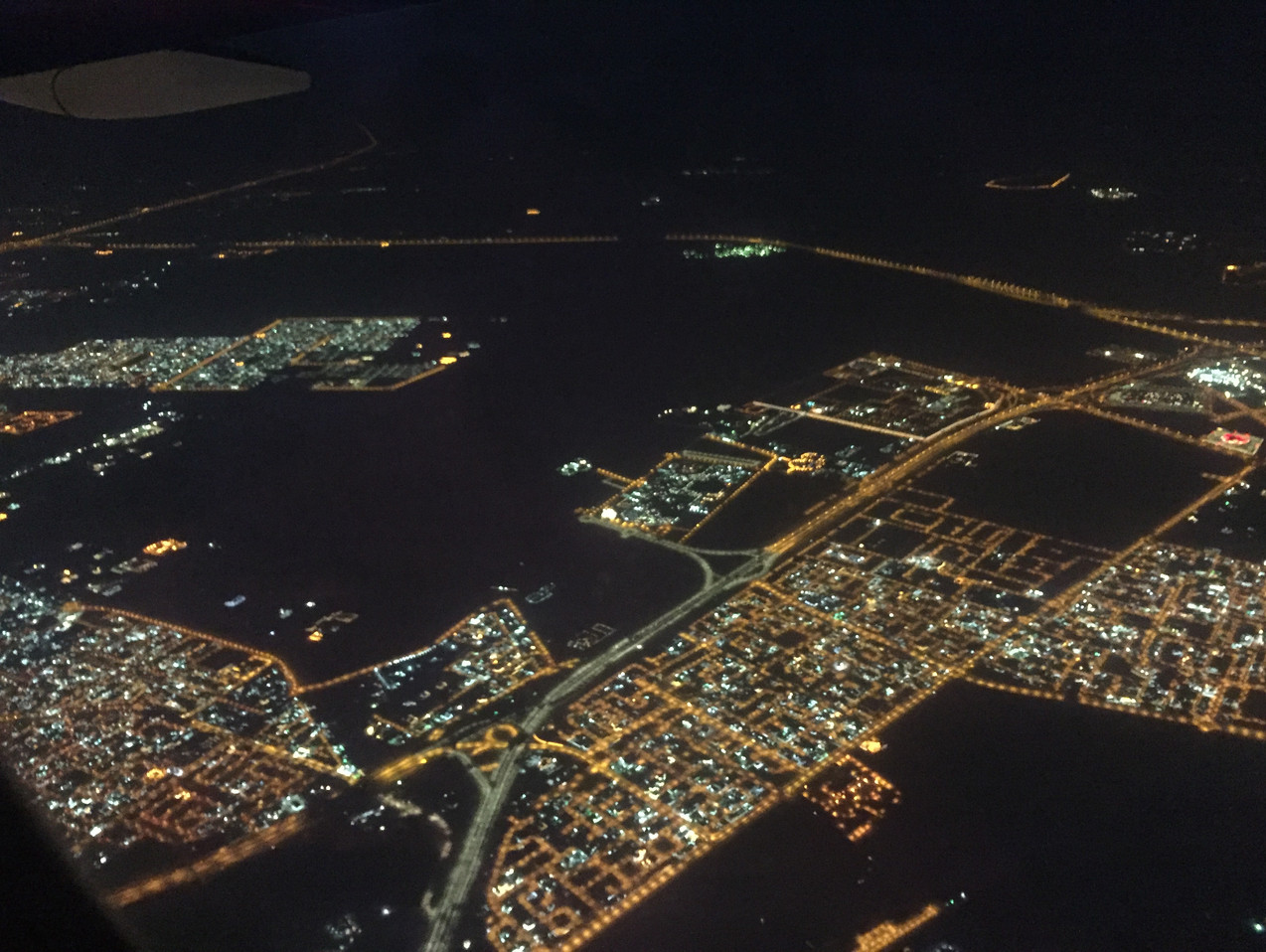 Doha from top, Qatar!