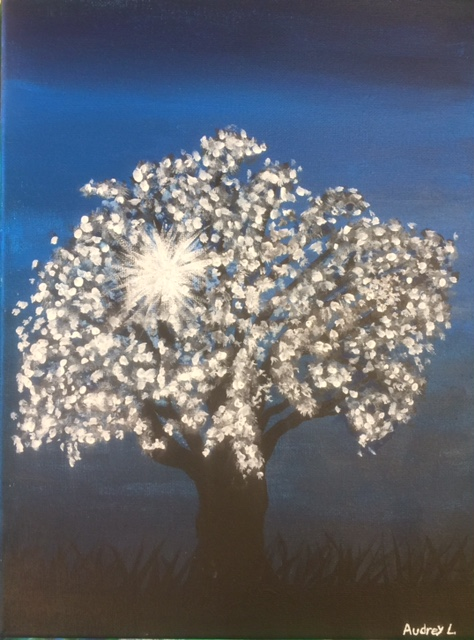Audrey's sparkling tree