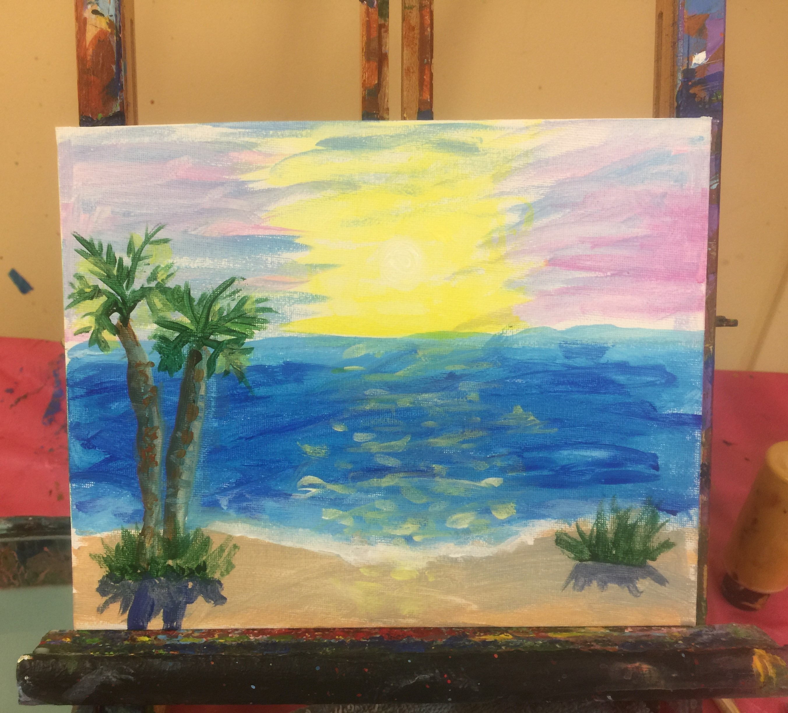 Daniels sunset  painting