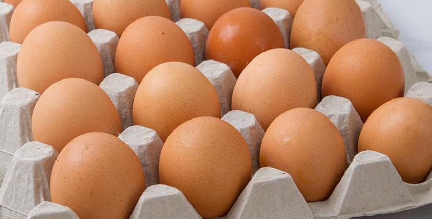 uova rosse 90 pezzi