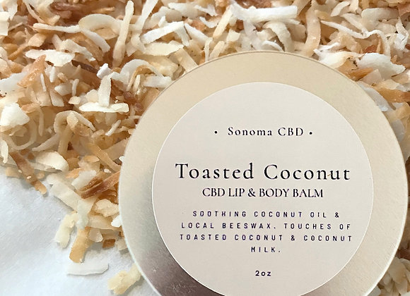 Toasted Coconut Lip & Body Balm