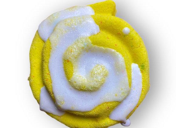 Glazed Lemon Roll Bath Bomb
