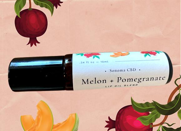 Melon + Pomegranate Lip Oil